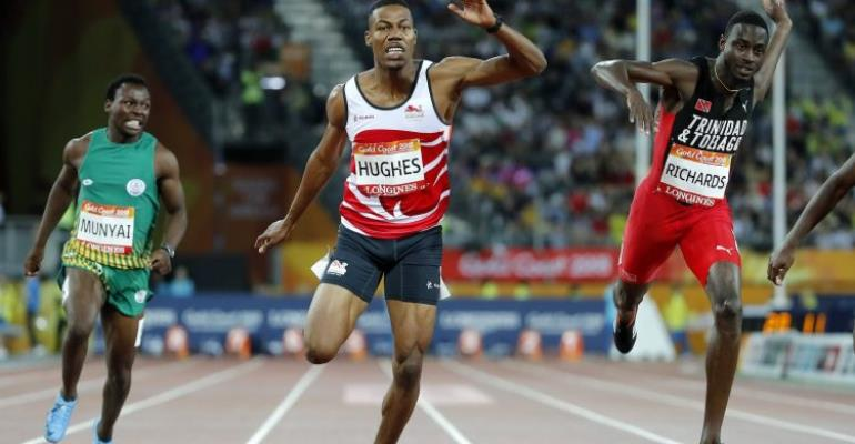 Commonwealth Games 200m: English Runner Stripped Of Gold