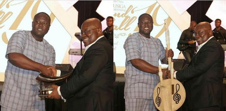 Kojo Antwi Congratulates His Manager