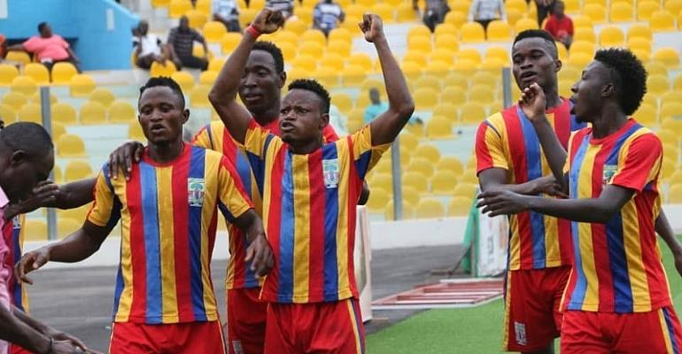 MATCH REPORT: Hearts Tame Liberty At Dansoman With 1-0 Victory