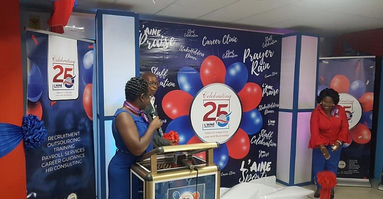 Human Resource Consult L'aine Services Marks 25 Years