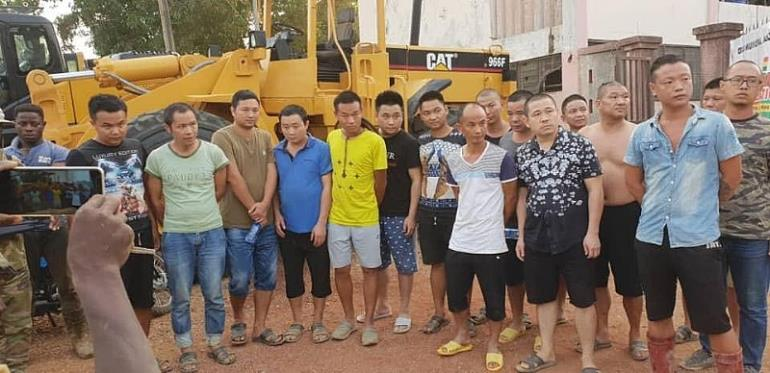 Who Says The Lunatic Fringe Of Illegal Chinese Miners Have Left The Scene?