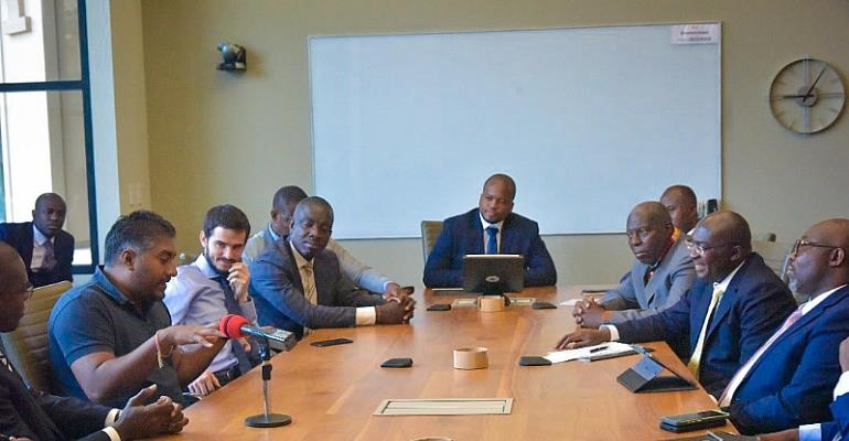 Vice President Bawumia woos Silicon Valley Investors