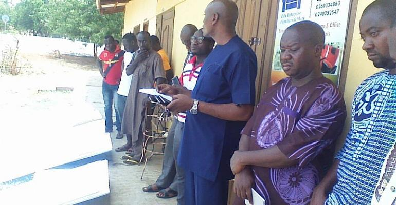 NADMO Supports Victims Of Recent Rainstorm