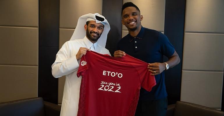 Cameroon Legend Samuel Eto Joins Qatar 2022 As Global Ambassador