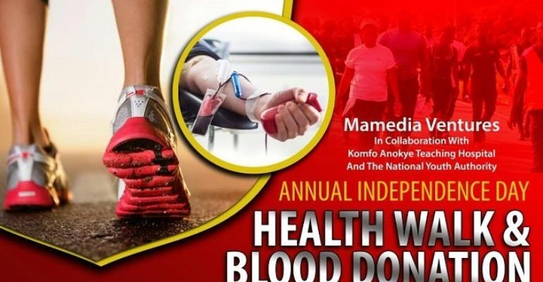 MAMEDIA 2019 Easter Walk/Blood Donation attracts corporate support