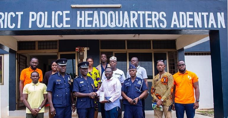 4 Divisional Headquarters Of Ghana Police Get Internet Solutions From Busy