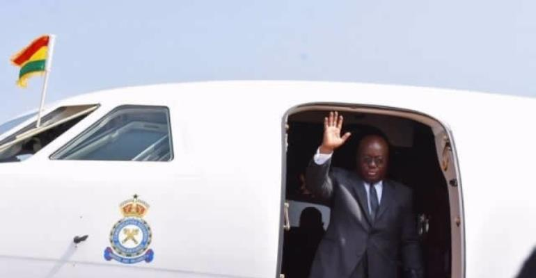 Akufo-Addo In London To Attend 25th Commonwealth Meeting