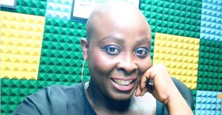 Nollywood Actress, Lolo goes Bald, Flaunts her Beauty