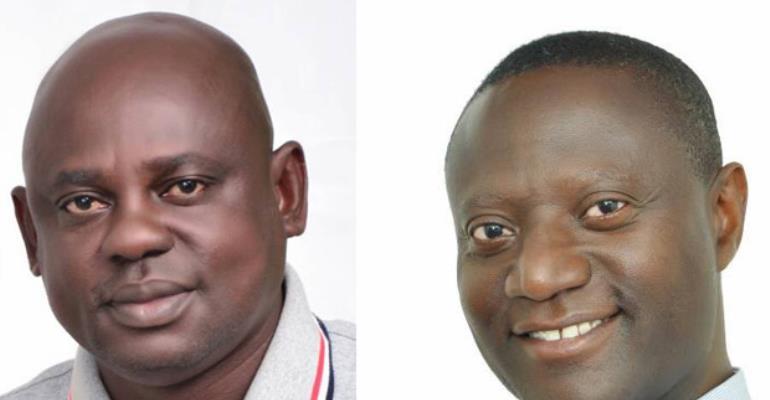 Kwame Appiah Kodua andJeff Konadu Addo