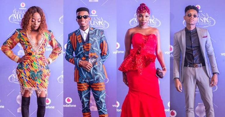 All The Photos Of Celebs Who Dazzled On The Red Carpet At The 2018 VGMA