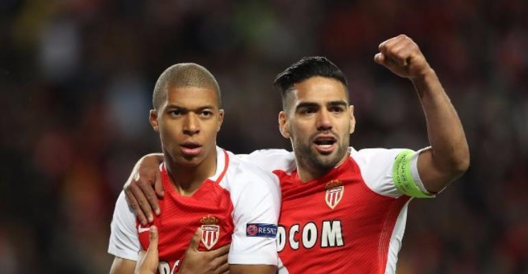 Mbappe sets Champions League record as Monaco oust Dortmund