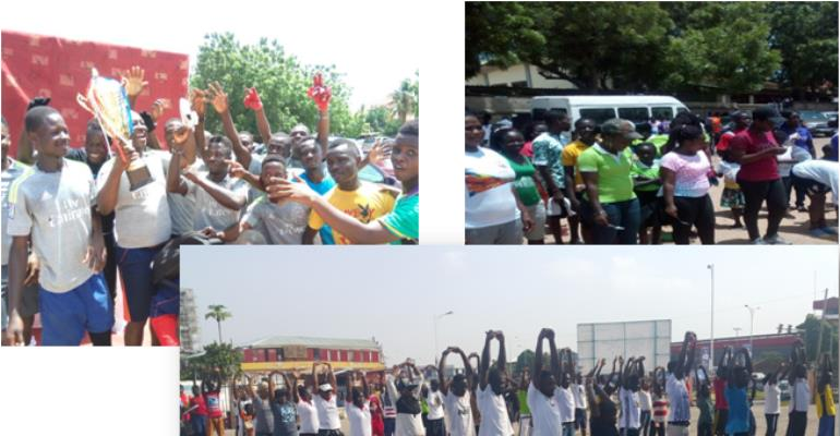 Interdenominational Fun Games And Health Walk 'Passion Games 2017'  Marked