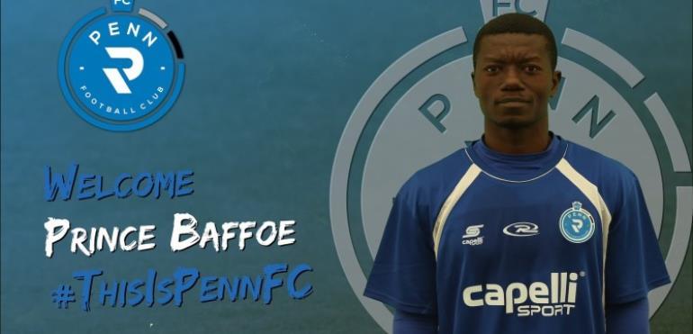 Inter Allies Midfielder Prince Baffoe Joins Penn FC