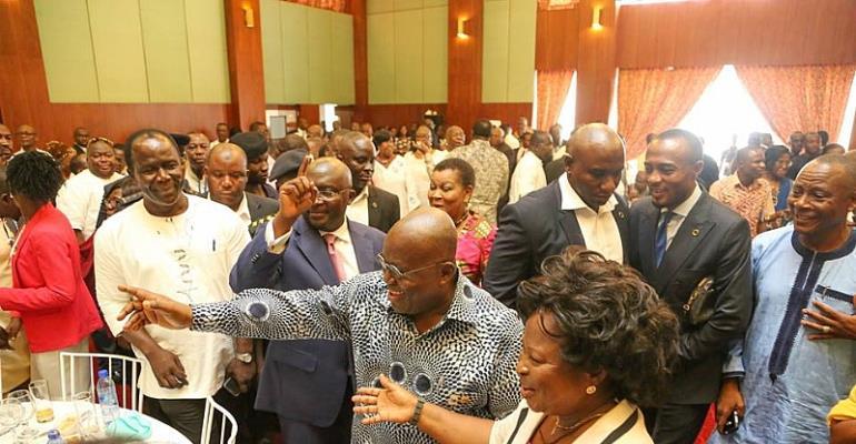 Declare cost of Nana Addo's 'lavish' parties – Minorty