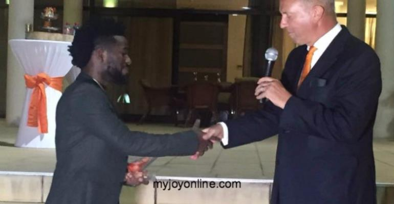 Bisa KDei honoured by Netherlands Embassy