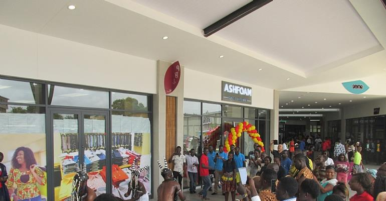 Kumasi Residents Welcome New Mall