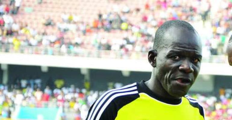 Abubakar Damba with an outside chance of working with Kwesi Appiah