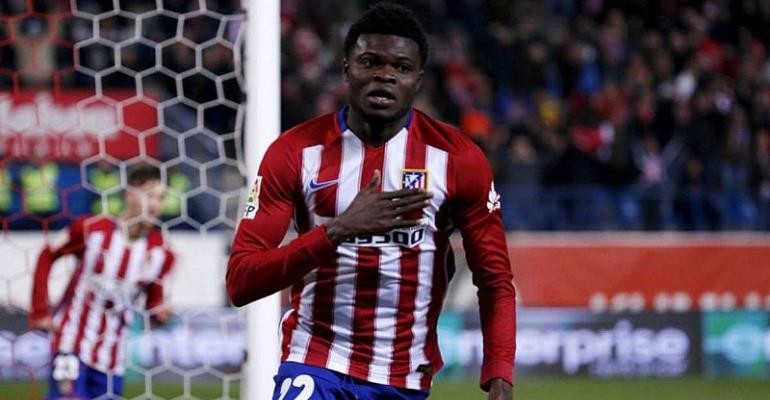 Thomas Partey's Atlético drawn against rivals Real Madrid in Champions League semis