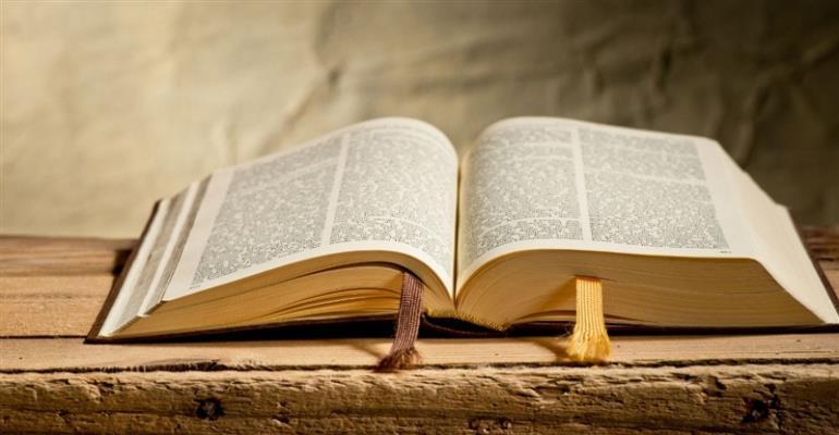 Bible Not Textbook