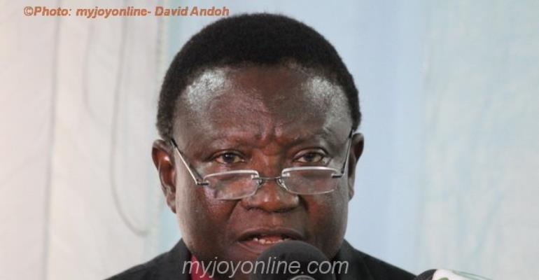 Most Rev. Prof. Emmanuel Asante is the Chairman of the National Peace Council