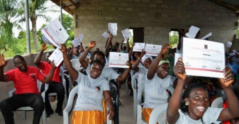 ENA Encourages Adult Literacy At Ahiagbakope