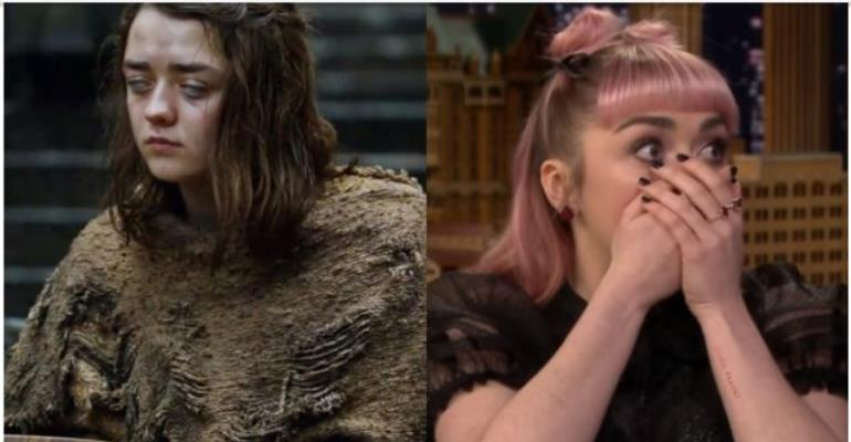 Arya Stark Of 'Game of Thrones' Accidentally Revealed A Major Spoiler