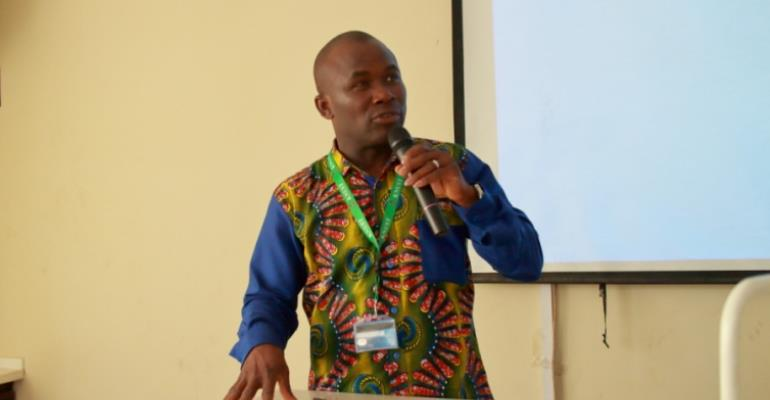 NSA Boss Professor Peter Twumasi