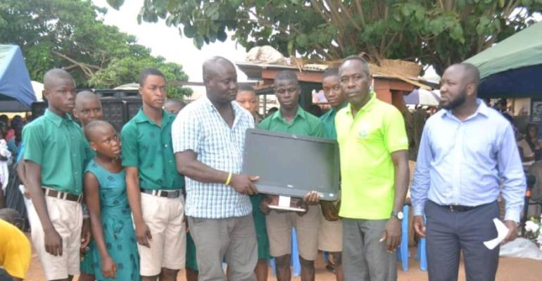 Schools In Afram Plains Receive Support From HELAC