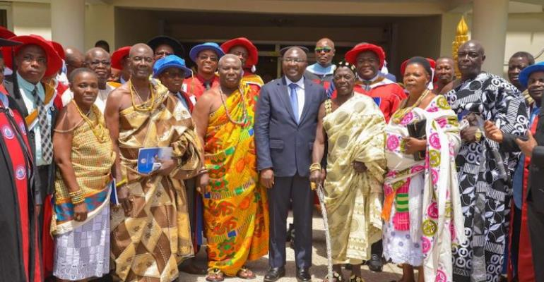 Bawumia Hints Government Will Expand Infrastructure In Tertiary Institutions