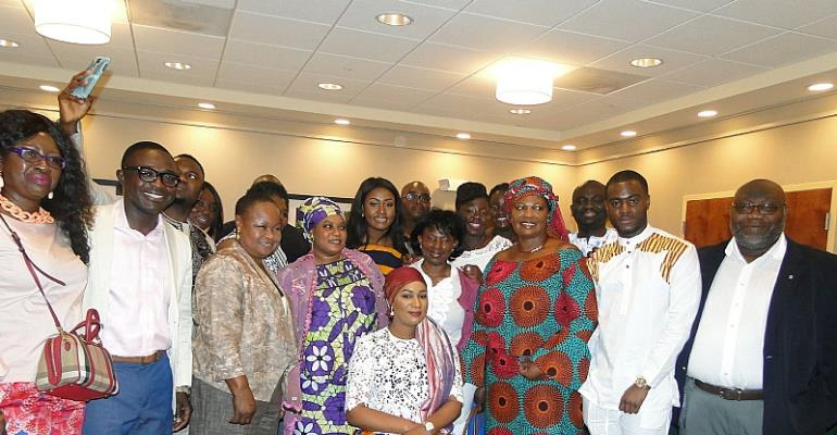 Mrs. Samira Bawumia Visits Ghanaians In Connecticut