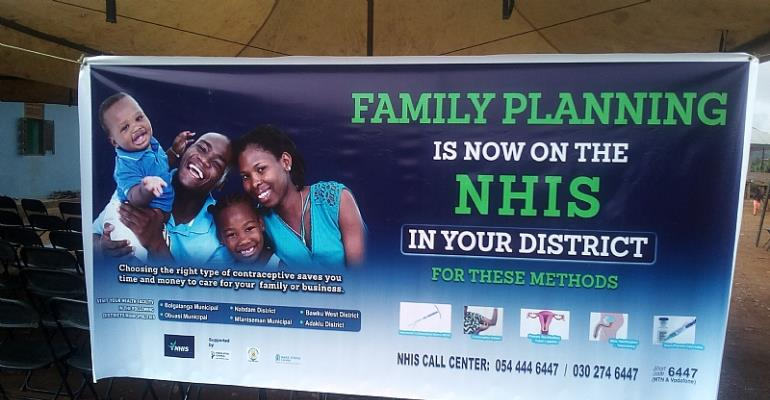 Family Planning Is Now Free In Obuasi