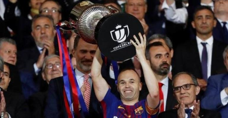 Iniesta: 'This is my last season at Barcelona'