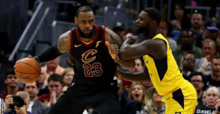 NBA Play-Offs: LeBron James Helps Cleveland Cavaliers Into Second Round