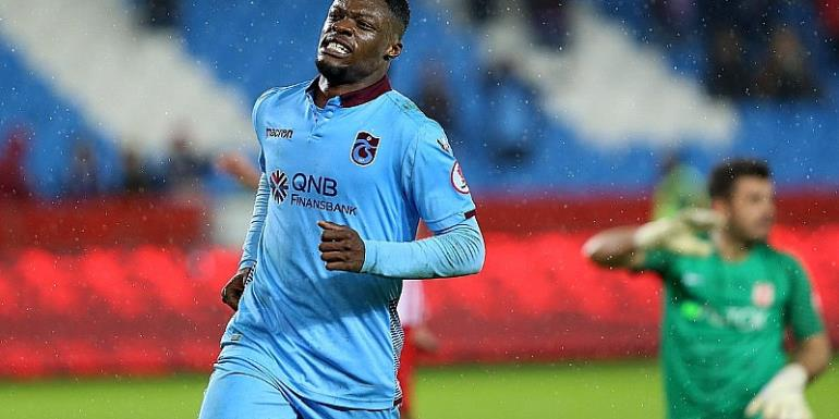 Trabzonspor Ready To Allow Caleb Ekuban At The End Of The Season