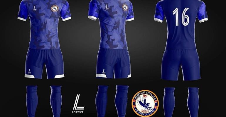 Berekum Chelsea Announce New Kits