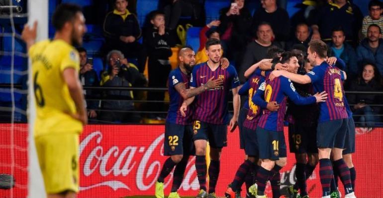 Messi And Suarez Rescue Barca In 4-4 Draw At Villarreal