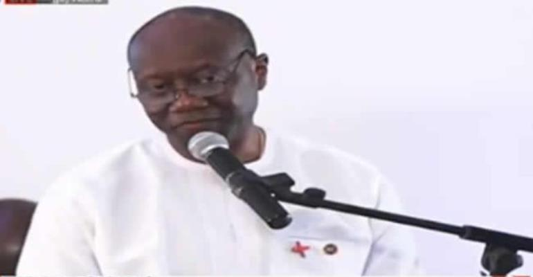 'So I can assure you that never again would we go back,' Mr Ofori-Atta said