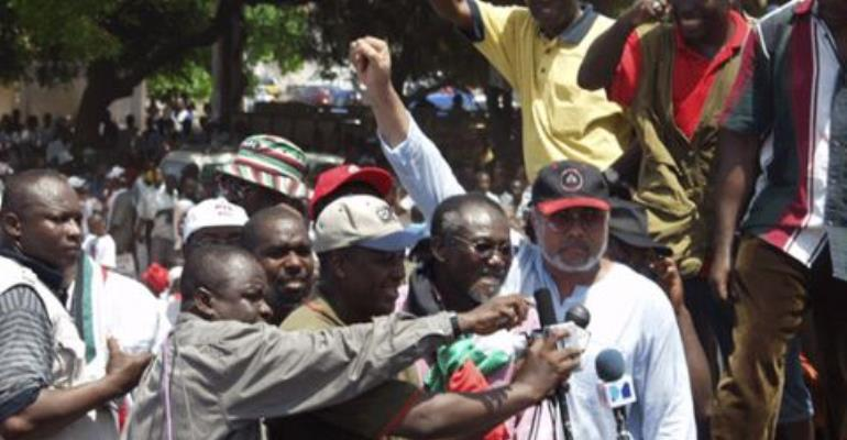NDC in deep trouble over Rawlings' role