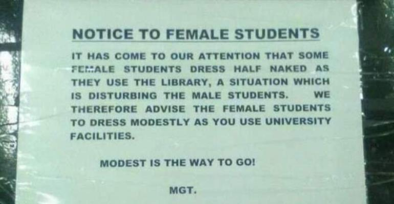 Zambia Students Warned Against Indecent Dressing