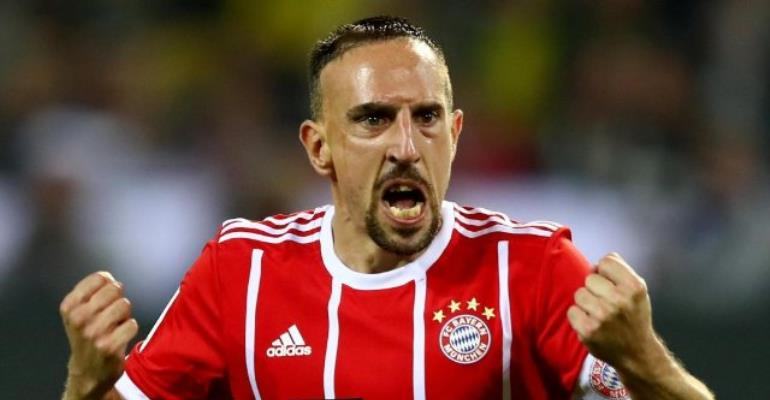 Franck Ribery signs one-year Bayern Munich extension