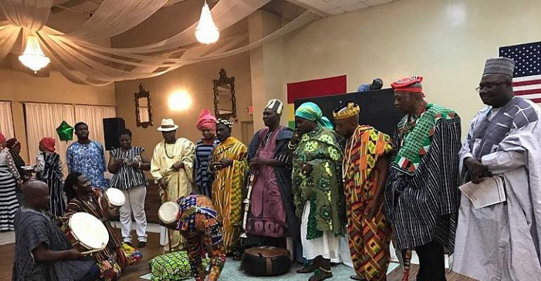 Northern Ghanaians Celebrates Damba In Atlanta