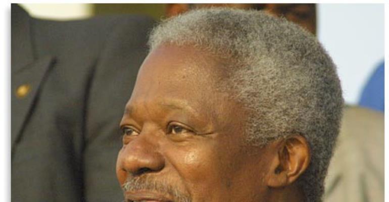 Kofi Annan for president ? (1)
