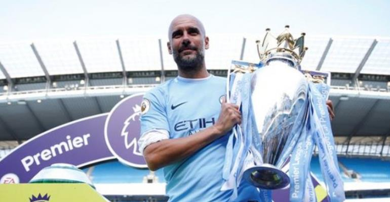 Guardiola crowned Manager of the Year