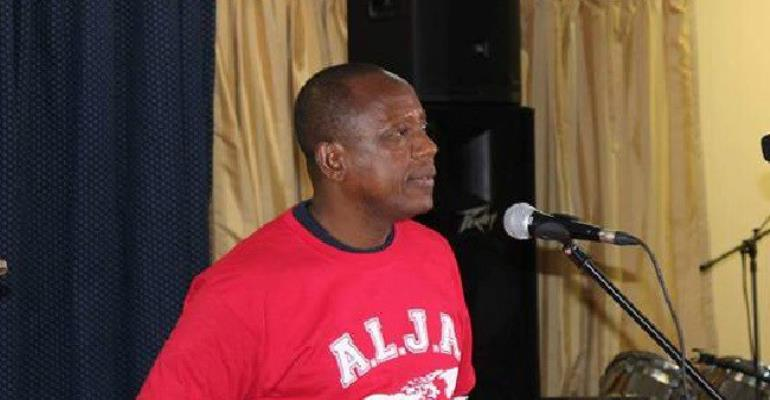 Moses D. Sandy,  National President of the Association of Liberian Journalists in the Americas