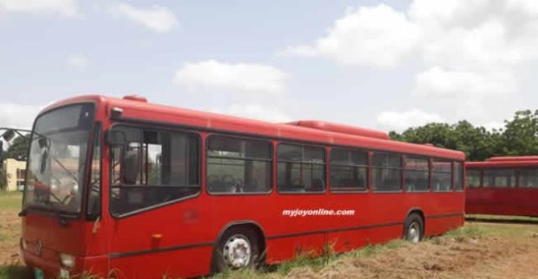 13 Buses Donated By Turkey Has Been Left To Rust