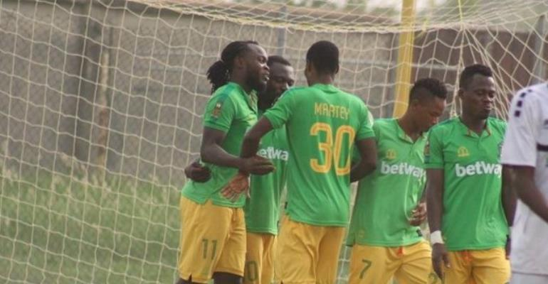 Aduana Stars Starting XI Against Raja Casablanca — CAF Confederation Cup
