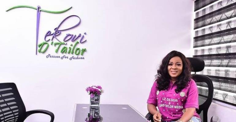 Actress, Liz Da-Silva Unveils Own Fashion Store