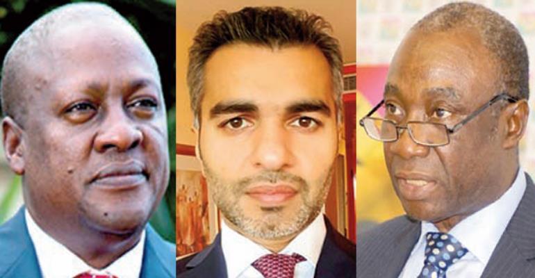 John Dramani Mahama, Umar Farooq Zahoor, Dr Kwabena Donkor