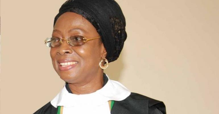 Ayekoo, Justice Georgina Wood; Welcome Justice Sophia Akuffo