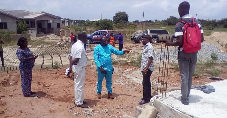 I Won't Entertain Shoddy Work In My District—Gomoa East DCE Cautions Contractors